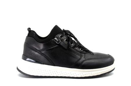 Running sneakers μαύρα
