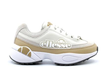 δερμάτινα μπεζ sneakers ellesse