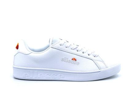 δερμάτινα λευκά sneakers ellesse