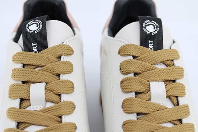 δερμάτινα sneakers JANET SPORT