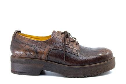 Δερμάτινα γυναικεία chunky loafers