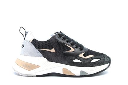 sneakers LIUJO μαύρα