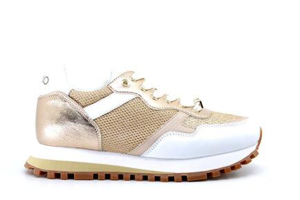 sneakers LIUJO λευκά ροζ χρυσό