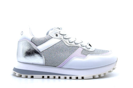 sneakers LIUJO λευκά ασημί