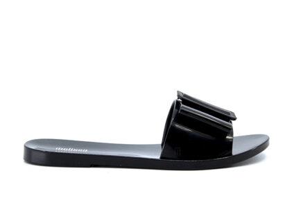 vegan melissa slides μαύρες