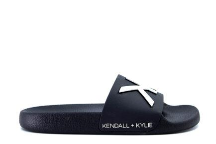 μαύρες παντόφλες pool slides KENDALL & KYLIE