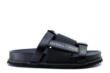 μαύρες παντόφλες KENDALL & KYLIE poolslides