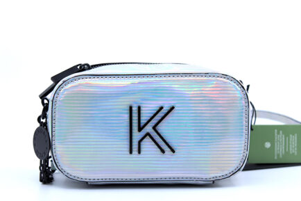 Kendall + Kylie Heather Γυναικεία Τσάντα Χιαστί σε Ασημί χρώμα