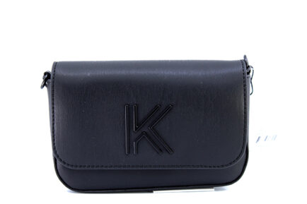 Kendall + Kylie Arya Γυναικεία Τσάντα Χιαστί σε Μαύρο χρώμα