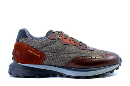 Ανδρικά sneakers Ambitious BROWN COMB ASH.1W1.080.148