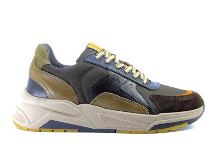 Ανδρικά Sneakers AMBITIOUS ASH.1W1.080.104 Fulvo ΜΑΥΡΟ